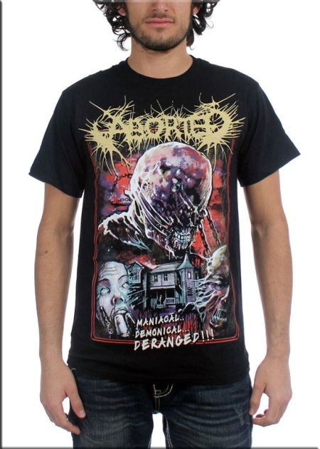 Camiseta-Aborted-Deranged-Fr
