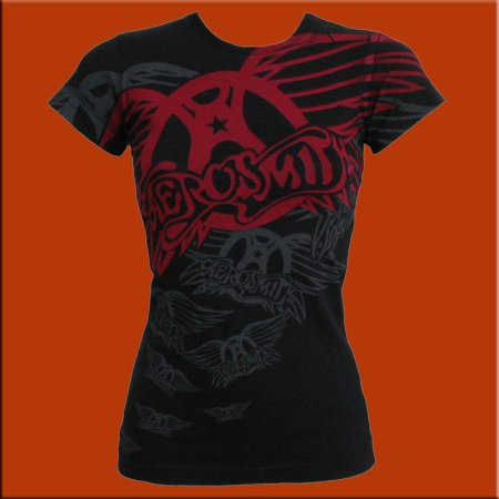 Camiseta_Chica_Aerosmith_Walk_This_Way