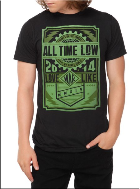 Camiseta-All-Time-Low-War-Press